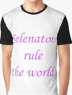 Selenators Rule The World Graphic T-Shirt