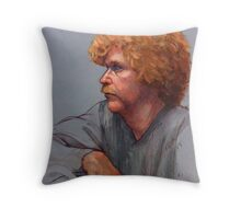 Born Red Throw Pillow