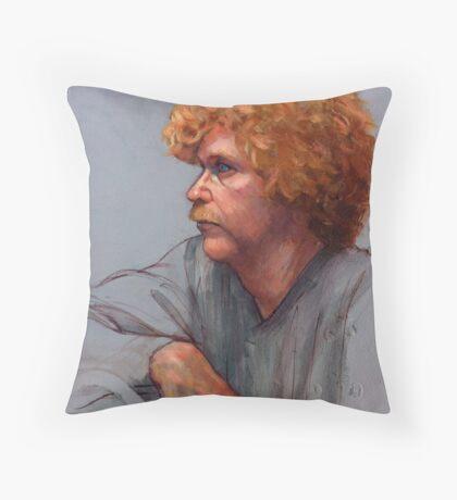 Born Red Throw Pillow