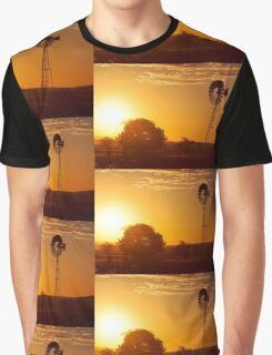 Outback Windmill Graphic T-Shirt