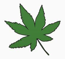 Weed Leaf by Taylor Miller