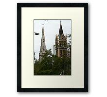 Battle of the spires Framed Print