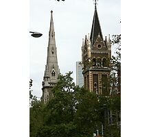 Battle of the spires Photographic Print