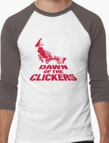 DAWN OF THE CLICKERS Men's Baseball ¾ T-Shirt