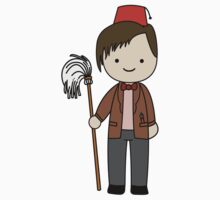 Eleventh Doctor Pandorica Kawaii Cartoon Design by slitheenplanet