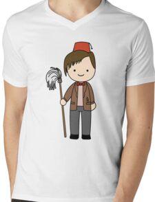 Eleventh Doctor Pandorica Kawaii Cartoon Design Mens V-Neck T-Shirt