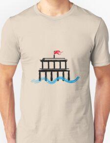 Beach Building T-Shirt