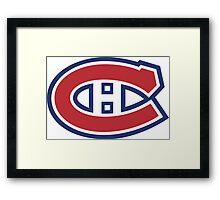 Montreal Canadians Framed Print