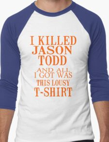 I Killed Jason Todd And All I Got Was This Lousy T-Shirt Men's Baseball ¾ T-Shirt