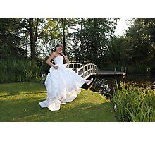 Wedding at Pontlands Park Photographic Print