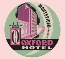 Vintage travel oxford hotel uruguay by kustom