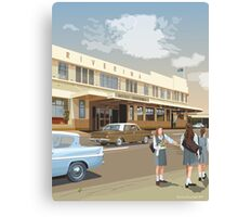 Riverina Hotel Hamilton Canvas Print
