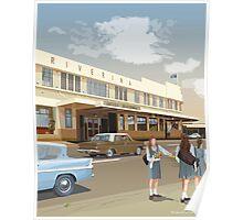 Riverina Hotel Hamilton Poster