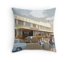 Riverina Hotel Hamilton Throw Pillow