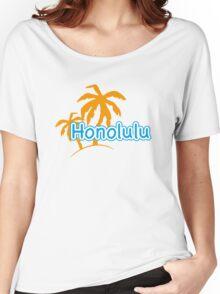 Honolulu Women's Relaxed Fit T-Shirt