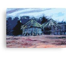 Kenyan Dwelling Canvas Print