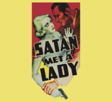 Vintage movie satan met a lady by kustom
