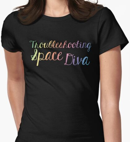 Space Diva Womens Fitted T-Shirt