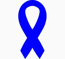 Blue Awareness Ribbon Unisex T-Shirt