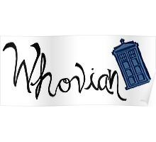 Whovian - Dr. Who Poster