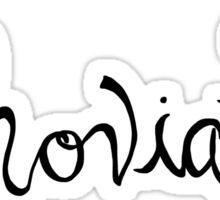 Whovian - Dr. Who Sticker