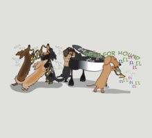 Jazz Hounds Band by Diana-Lee Saville