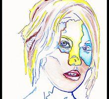 Coloured in Girl by Jonasnowl