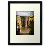 Caerphilly Castle Framed Print