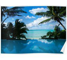Honeymoon View, Rarotonga. Poster