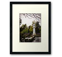 Roath Park Lighthouse Framed Print