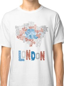 London Boroughs in Type Classic T-Shirt