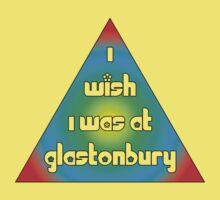 I wish I was at Glasto Kids Tee