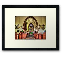 St Martin of Tours Framed Print