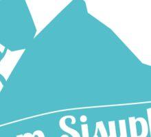 Team Sisyphus Sticker