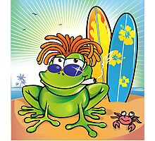 jamaican summer frog Photographic Print