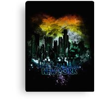 stormy city - New - York Canvas Print