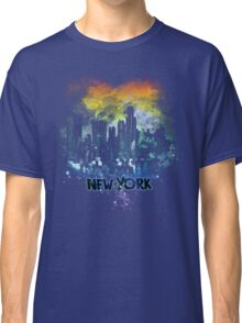 stormy city - New - York Classic T-Shirt