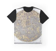 vintage Moon map Graphic T-Shirt