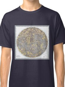 vintage Moon map Classic T-Shirt