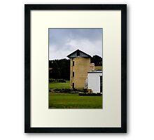 Country Silo Framed Print