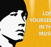 Eminem 'Lose Yourself in the Music' - Pop Art by CalumCJL