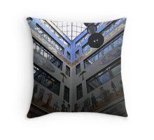 Architecture in Leipzig Throw Pillow