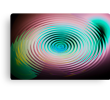 The Art of Ripples Canvas Print
