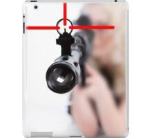 Lady Sniper iPad Case/Skin