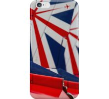 Red Arrows Tail art iPhone Case/Skin