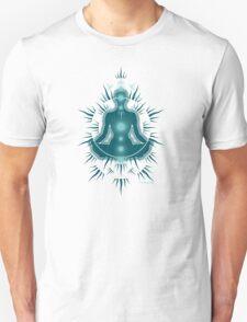 Yoga pose Deep Turquoise-Seafoam Teal T-Shirt