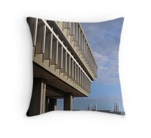 Steep Cliff Throw Pillow