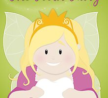 Tooth Fairy Greetings Card by Digital Art with a Heart