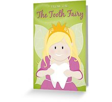 Tooth Fairy Greetings Card Greeting Card