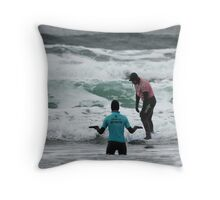 The Instructor Throw Pillow